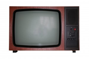 oude televisie