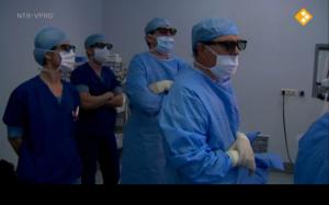 3D bril in de operatiekamer