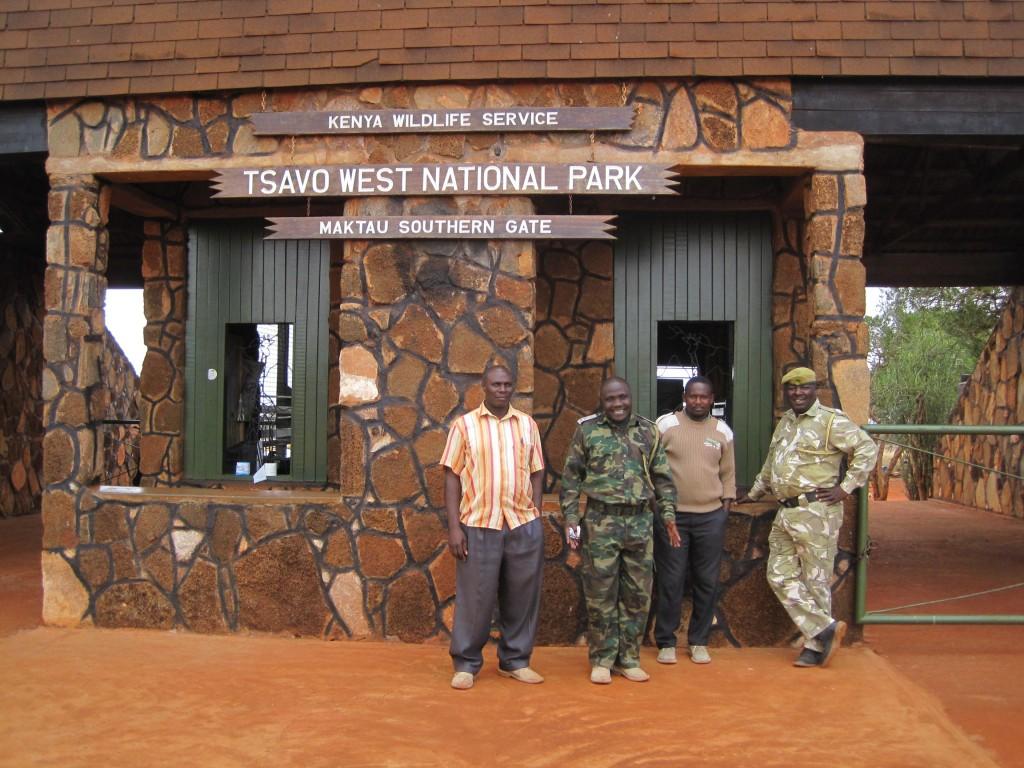 De rangers van Tsavo West