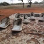 Fris gewassen schoenen